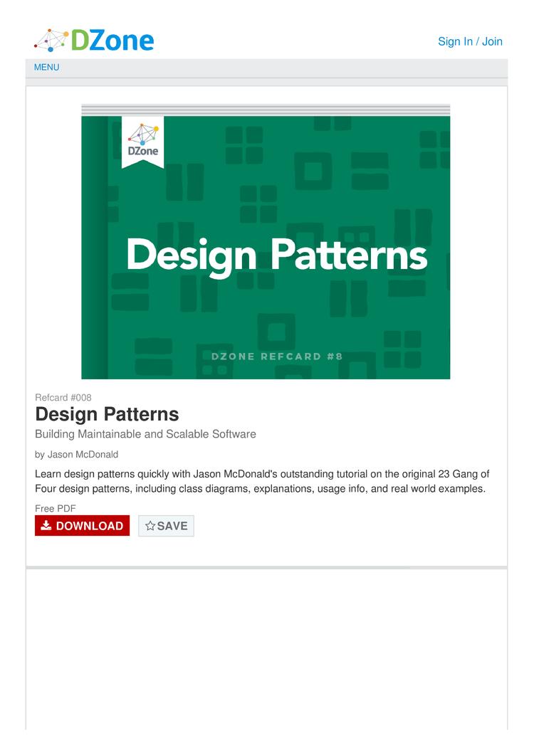 Gang Of Four Patterns Custom Inspiration