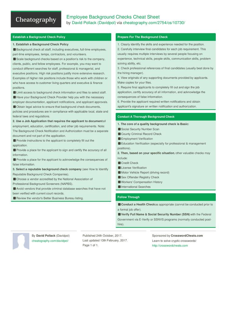 employee sheet