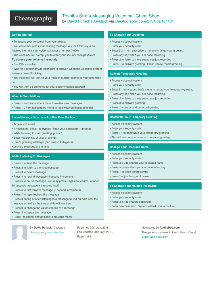 Toshiba strata messaging voicemail cheat sheet by davidpol toshiba strata messaging voicemail cheat sheet by davidpol download free from cheatography cheatography cheat sheets for every occasion m4hsunfo