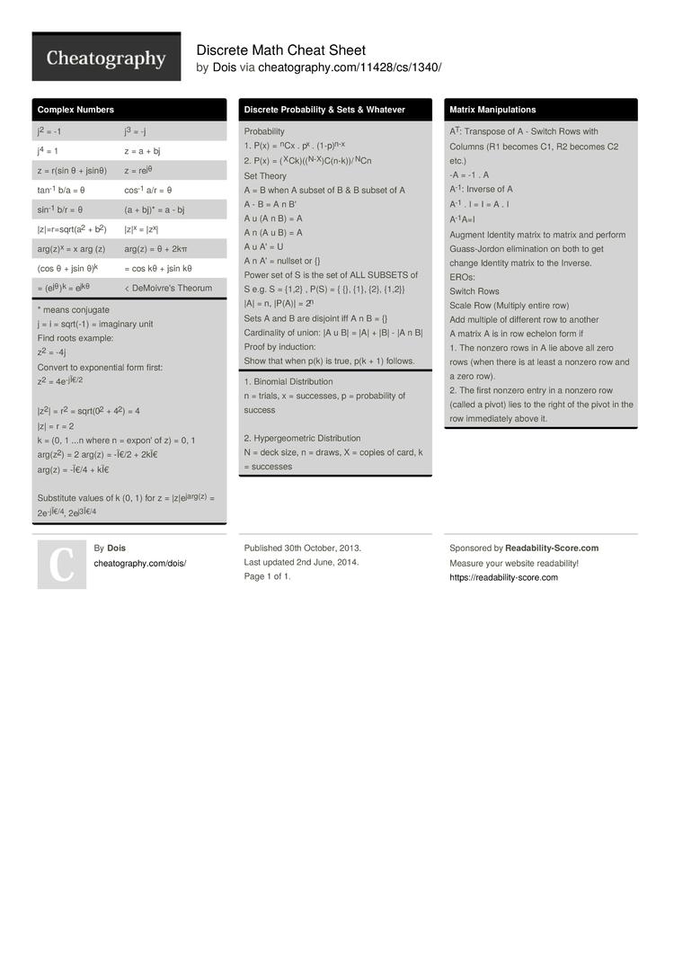 mandelbrot discrete math worksheet mandelbrot best free printable worksheets. Black Bedroom Furniture Sets. Home Design Ideas